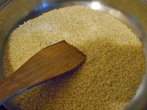 sezam prażony