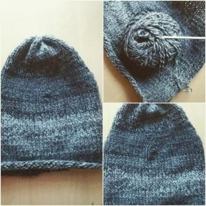 czapka melanżowa